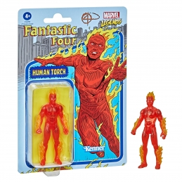 Human Torch Figure Marvel Legends Retro Collection Series