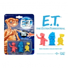 E.T. the Extra-Terrestrial Collector's Set Mini Figures 3-Pack 1982 Edition