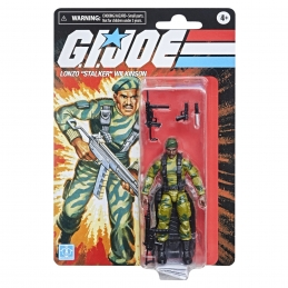 "G.I. Joe Retro Collection Lonzo ""Stalker"" Wilkinson Series Hasbro"