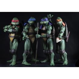 Teenage Mutant Ninja Turtles 1/4 Pack x4 Action Figures Neca