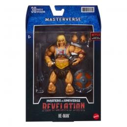 Masters of the Universe: Revelation Masterverse 2021 Action Figure He-Man Mattel