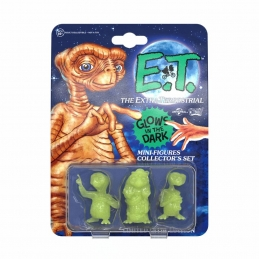 E.T. l´Extra-Terrestre Pack 3 Mini Figurines Collector's Set Glowing Edition