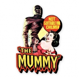 Hammer The Mummy Funky Chunky Magnet, Horror Collection