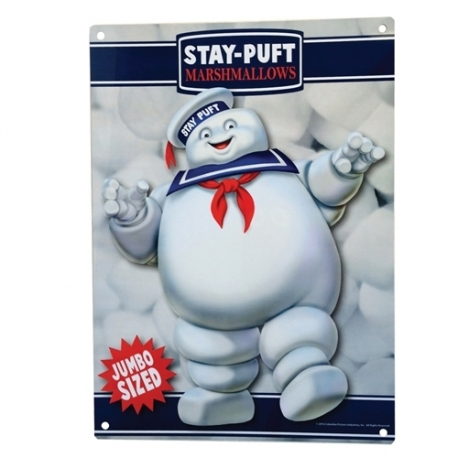 Ghostbusters Stay Puft Metal Sign, Ghostbusters