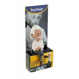 Albert Einstein Computer Headknocker, Bobble Heads