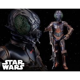 Star Wars, STATUE BOUNTY HUNTER 4-LOM ARTFX + STAR WARS