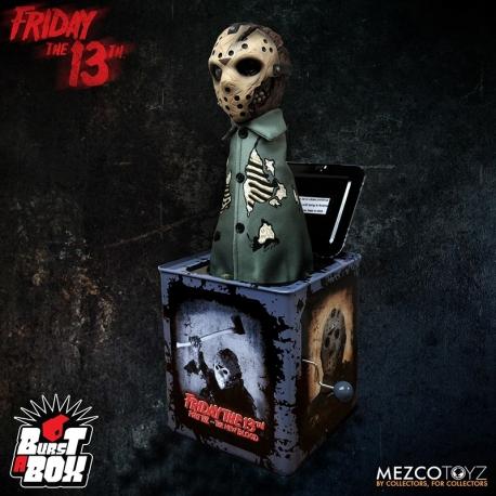 BURST-A-BOX FRIDAY 13TH P.7JASON VOORHEES MEZCO TOYS, Friday