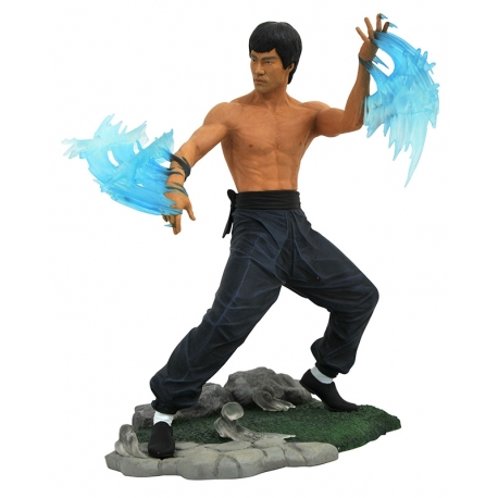BRUCE LEE WATER STATUE PVC DIAMOND SELECT TOYS GALLERY, Bruce