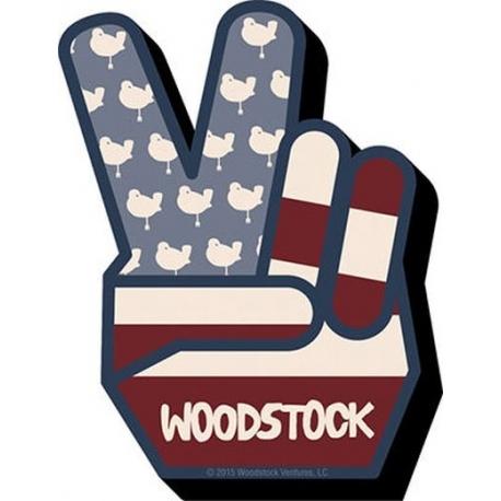 WOODSTOCK PEACE MAGNET AQUARIUS ENT, Magnet/Stickers