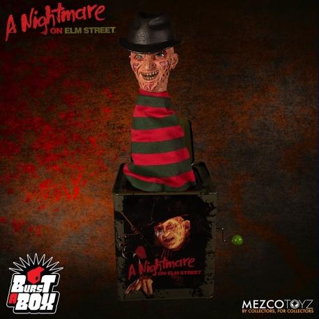 Burst-A-Box NIGHTMARE FREDDY KRUEGER, A Nightmare On Elm