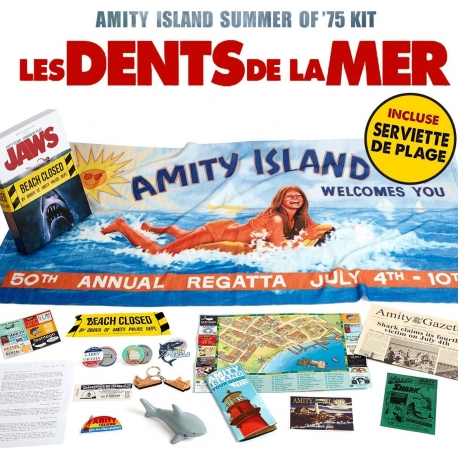 JAWS AMITY ISLAND SUMMER OF 75 KIT, Jaws