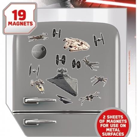 STAR WARS SPACESHIPS MAGNET SET, Star Wars