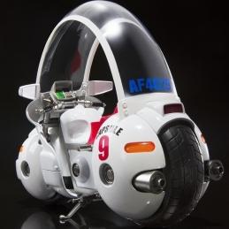 DRAGON BALL BULMA MOTORCYCLE Hoipoi Capsule n°9 S.H.FIGUARTS