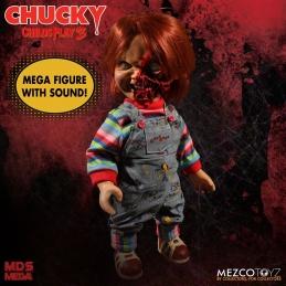 MEZCO Mega Scale Talking Pizza Face Chucky, Chucky