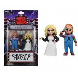 Toony Terrors Chucky & Tiffany 2 Pack NECA