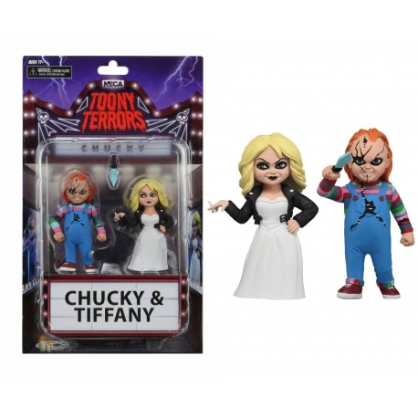 Toony Terrors Chucky & Tiffany 2 Pack NECA, Chucky