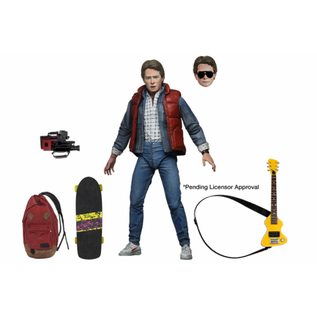 ULTIMATE MARTY Back to the Future Neca, Back To The Future