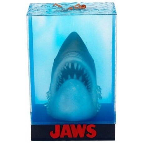 JAWS FIGURE POSTER 3D SHARK, Jaws