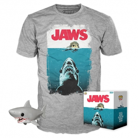 Jaws POP Box! POP Action Figure and T-shirt Exclusive, Jaws