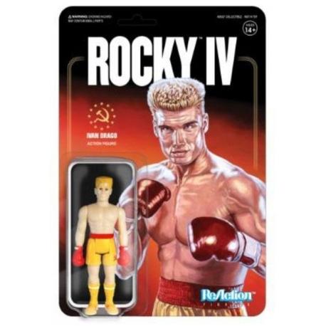 Rocky 4 action figure ReAction Ivan Drago SUPER7