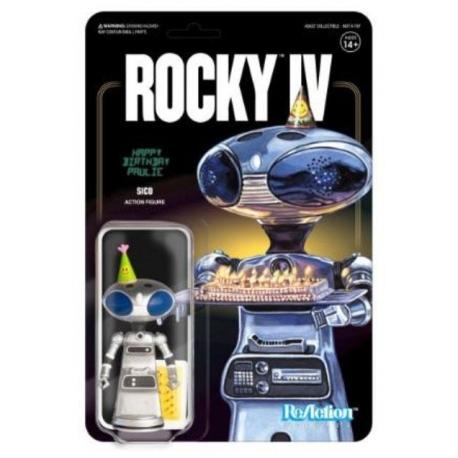Rocky 4 action figure ReAction Sico Paulie's Robot SUPER7