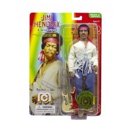 Jimi Hendrix Action Figure Woodstock Flocked MEGO, Music