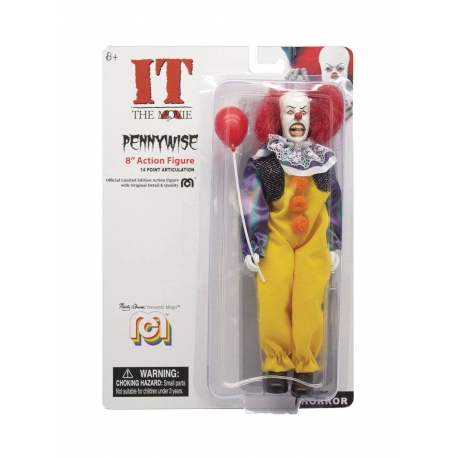 IT PENNYWISE THE DANCING CLOWN ACTION FIGURE MEGO, It