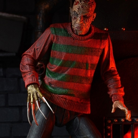 Freddy Krueger Nightmare on Elm Street action figure 30th