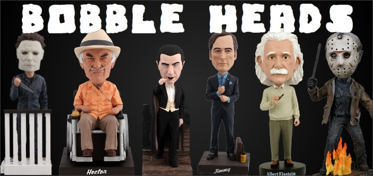 Collection Bobble Heads